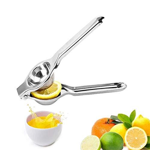 Sorteador de limón, herramienta manual de cocina de cítricos de acero inoxidable cítrico de acero inoxidable, para caña de azúcar de granada de color naranja de limón