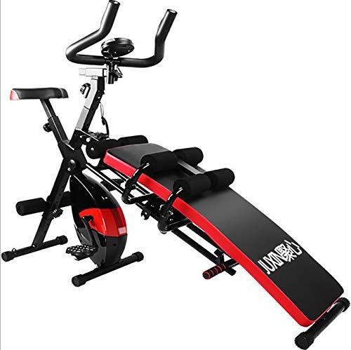JINGQI Magnetisch gesteuerte Spinnerei Fahrrad nach Hause flüsterleise Indoor-Fahrrad Männer und Frauen Sex Heimtrainer Multifunktionsgewichtsverlust Gerät
