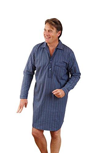 Champion Mens Cotton Night Shirt blue Large