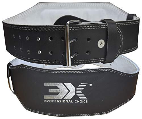 """✔CINTURA DA ALLENAMENTO DI QUALITÀ PROFESSIONALE 4 """"- stai cercando una cintura di sollevamento pesi di qualità professionale per il sollevamento pesi, il body building e gli allenamenti? La cintura di sollevamento 3X Sports è progettata per fornire ..."""