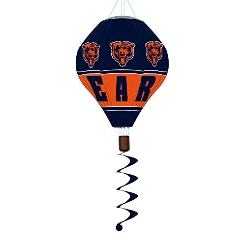 Team Sports America NFL Chicago Bears Stunning Outdoor Balloon Spinner - 12