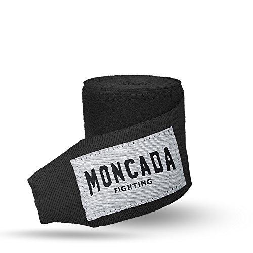 Boxbandagen mit Daumenschlaufe von Moncada Fighting (4m) Halb elastische Boxbandagen mit extra breitem Klettverschluss Abbildung 3