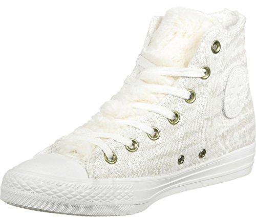 Converse All Star Winter Knit Fur Hi W schoenen grijs