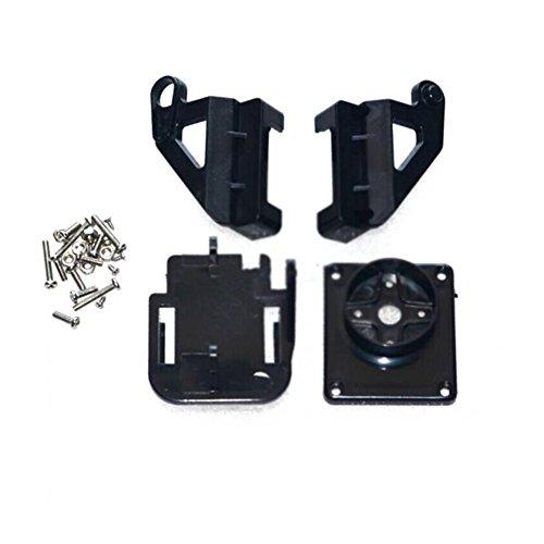 20sets Servo Bracket PT Pan/Tilt Camera Platform Anti-Vibration Camera Mount para Aviones FPV Dedicated Nylon PTZ para 9G SG90