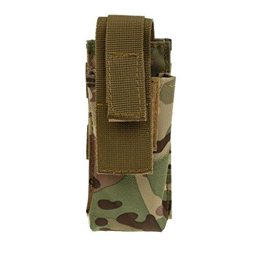 Baoblaze Sac de Tourniquet Poche de Survie en Plein Air - CP Camouflage, 130mm * 60mm * 35mm