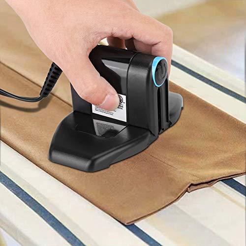 Duokon Plegable Mini Hierro eléctrico, Hogar Suministros orientable Plancha de Vapor con Seis ajustes de Temperatura para Viajes Inicio/Viajes/Negocio, etc.(EU 110-220V)