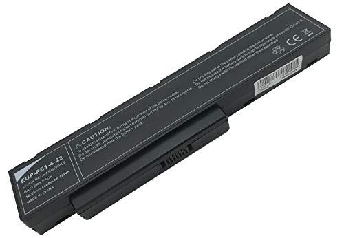Golem-Power 10.8V 4400mAh 48Wh EUP-PE1–4-22 Batería SQU-712 SQU-714 para Packard Bell Easynote MH35 MH36 MH45 MH85 MH88 F1235 F1236 F1245 7452540000 7437690000 Hera C HERA GL HERA G