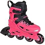 Powerslide Patines en línea para niños Stargaze rosa, botas rígidas, tamaño ajustable...