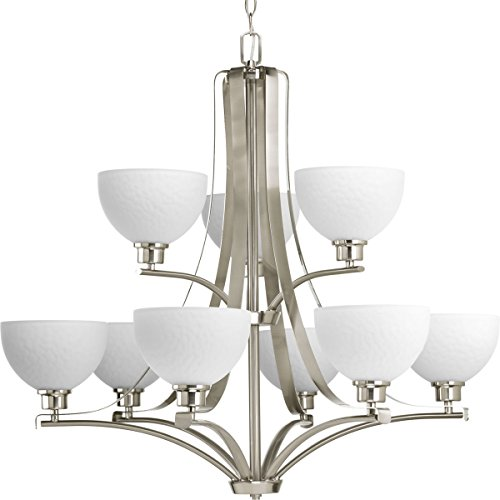 Progress Lighting P4272-09, Brushed Nickel
