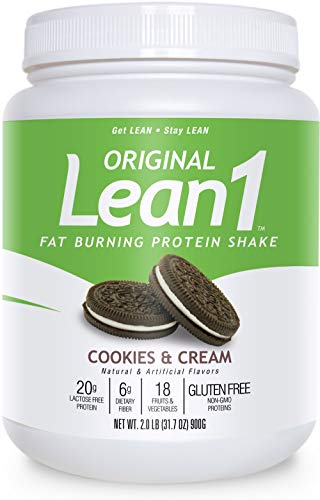 Lean 1 Cookies & Cream Fat Burning Meal Replacement
