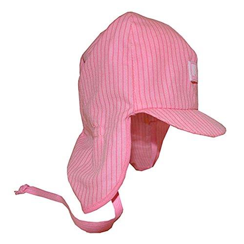 PICKAPOOH Baby Schirmmütze Lenno aus Bio Baumwolle KBA, rosa Gr. 48