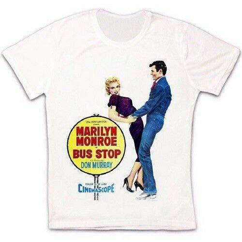 Marilyn Monroe Bus Stop 50S Film Gift Retro Vintage Hipster Unisex T Shirt 2867