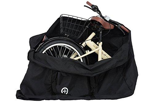 Raychell(レイチェル) 折りたたみ自転車用 輪行バッグ 20インチ用 輪行袋 収納ポケット付き 大容量194リットル