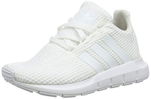 Adidas Swift Run C, Zapatillas de Deporte Unisex niño, Blanco (Ftwbla/Ftwbla/Ftwbla 000), 34 EU