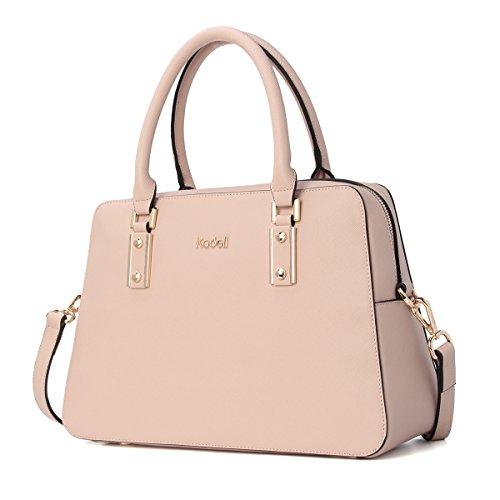 Kadell Women Vintage PU Leather Handbags Tote Satchel Shoulder Bag Top Handle...