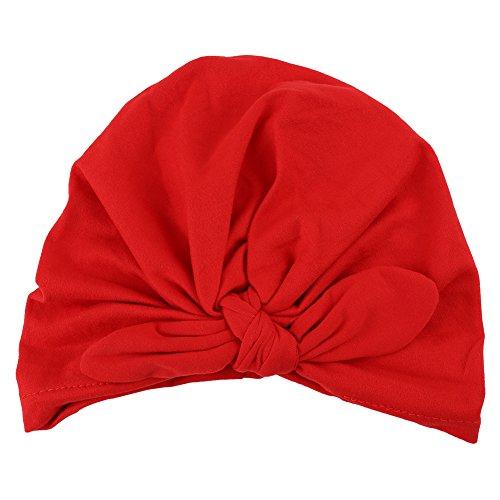 Zachte babyhoed in 6 kleuren, zachte turbanhoed voor pasgeborenen, ziekenhuis, warme muts met strik, schattige hoed voor baby's volharding