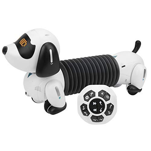 Programación de juguete para perros, juguete para cachorros robot, ejercicio de detección de gestos Flexibilidad de los dedos para mejorar la imaginación de los niños Niñas para niños
