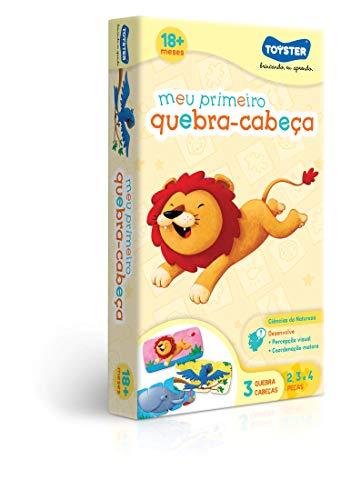 Quebra Cabeça 2/3/4 Meu Primeiro Quebra Cabeça Toyster Brinquedos