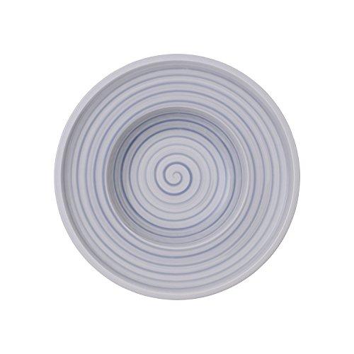 Villeroy & Boch Artesano Nature Bleu Suppenteller, Premium Porzellan, 25 cm