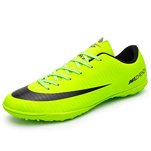 BOTEMAN Scarpe da Calcio Uomo Professionale Sportivo all'aperto di Calcio Bambini Teenager Scarpe da Calcetto Unisex