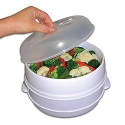 Kitchen Gadgets - Microwave Veggie Steamer
