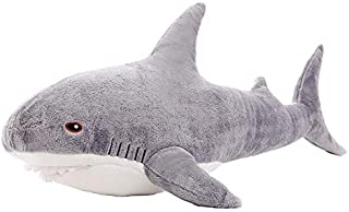 MMTTAO Shark Stuffed Animal 26 Inch Large Great White Soft Shark Plush Toy Gifts for Kids,26Inches