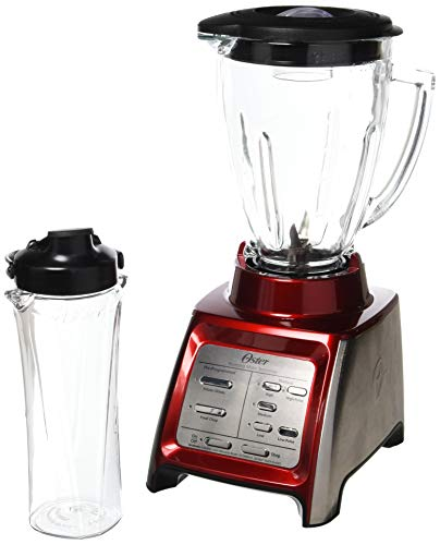 Oster Designed for Life General Blender, 13.8 x 10.4 x 8.7 inches, Red