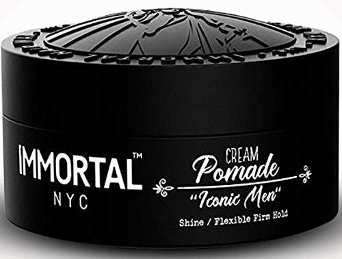 Immortal NYC 'Iconic Men' - Hair Pomade For Men - Hair Pomade For Men - Mens Hair Pomade For Men - Mens Hair Pomade - Mens Pomade - Mens Hair Pomade - Mens Styling Pomade Cream - 5.07oz