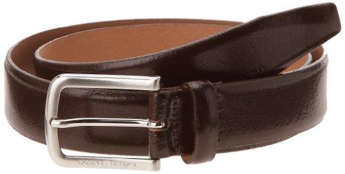 Tommy Hilfiger Tailored - Benson - Ceinture - Uni - Homme - Marron (229) - FR: 100 cm (Taille Fabricant: 100)