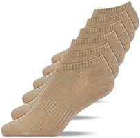 Snocks Sneaker Socken Herren & Damen (6er Pack) Bio Baumwolle