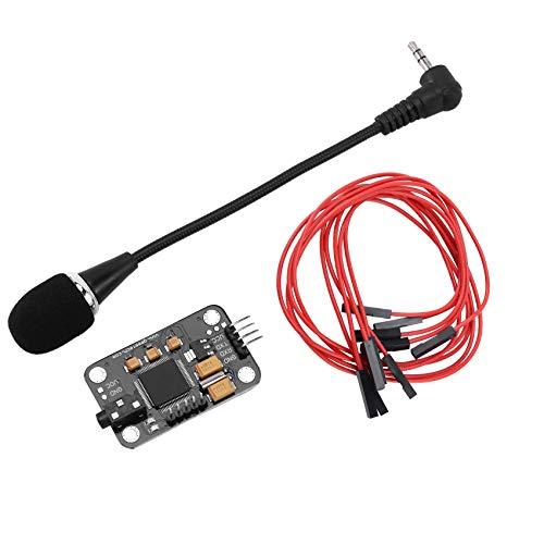 TOOGOO Módulo de Reconocimiento de Voz con Micrófono Tablero de Control de Voz de Reconocimiento de Voz Dupont para Arduino Compatible