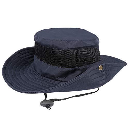 Sonnenhut Polyester Sommer Strand UV Schutz Schirmmütze Safari Hut Faltbar Unisex Fischerhut für Outdoor Angeln Wandern