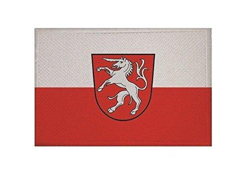 U24 Aufnäher Schwäbisch Gmünd Fahne Flagge Aufbügler Patch 9 x 6 cm