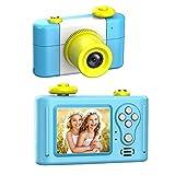 GordVE Kinder Kamera,Digitale Kamera für Kinder 1,5-Zoll-Bildschirm HD 1080P mit wiederaufladbarem Spiel Fotorahmen-Mikrofon Mini Kamera Geburtstagsgeschenk für Kinder -