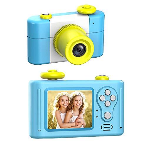 GordVE Kinder Kamera,Digitale Kamera für Kinder 1,5-Zoll-Bildschirm HD 1080P mit wiederaufladbarem Spiel Fotorahmen-Mikrofon Mini Kamera Geburtstagsgeschenk für Kinder
