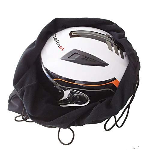 Bolsa Espesar Casco de la Motocicleta Mochila Felpa Dibuje Bolsillo for Vespa Completo Medio Casco de la Tapa Protege la Bolsa No Incluye Casco (Color : 1)