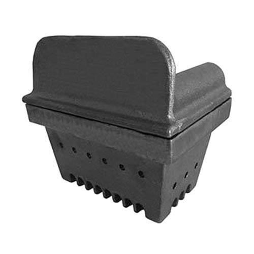 Easyricambi Brasero de hierro fundido cruela para estufa de pellets, 13,6 x 9,2 cm, altura 12,1 cm