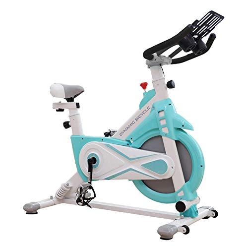 LJYY Bicicleta de Spinning para Interiores, Doble Resorte, absorción de Impactos, Volante de inercia de 11 kg, Bicicleta de Ejercicios para el hogar, Equipo Especial para Perder Peso, Biciclet