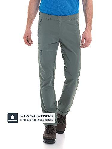Schöffel Herren Pants Koper1 bequeme und robuste Herren Hose mit 4-Wege-Stretch, elastische und wasserabweisende Wanderhose für Männer, sea turtle, 50
