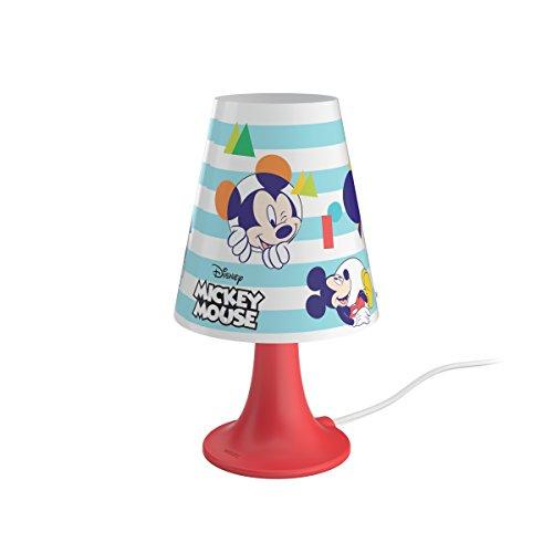 Philips 717953016 Lampe de chevet LED Motif Mickey Multicolore
