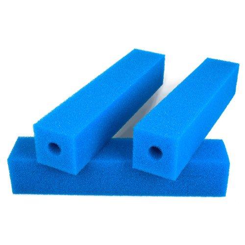 Filterpatrone 50 x 10 x 10 cm, PPI 30 (fein) Koi Teich, Filterschaum Patrone für den Einsatz im Teichfiltern