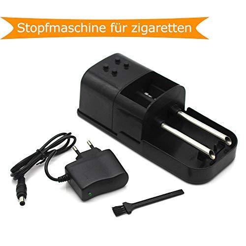 QIANG Elektrische Doppelrohr-Kleinmaschine, Schwarz - Yue0519