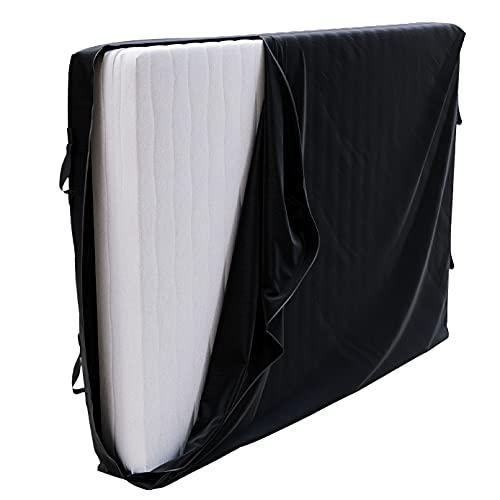 Matratzenhülle zur Lagerung und für Umzüge 140x200 x 30 cm Matratzen - 140x200 cm Bett - 4 Griffe und Reißverschluss - Rundum-Matratzenschutz wasserdichte Aufbewahrungstasche, Matratzenschutzhülle