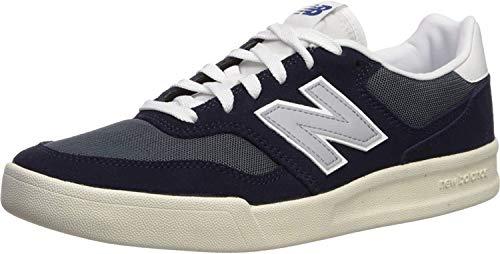 New Balance 300v2 Court, Zapatillas Hombre, Azul Marino/Blanco (Navy White), 37 EU