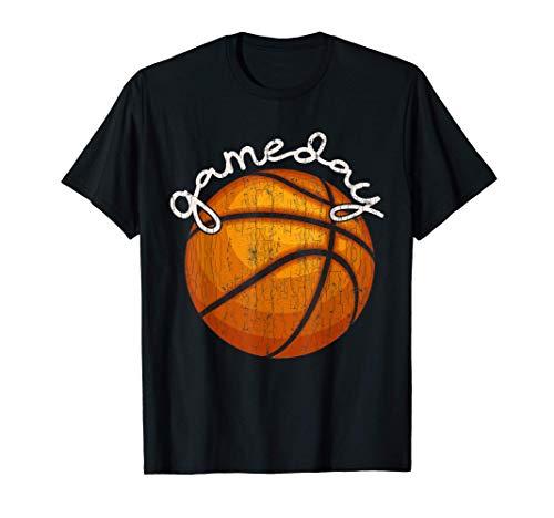 Divertido diseño de baloncesto Día de Juego para el jugador Camiseta