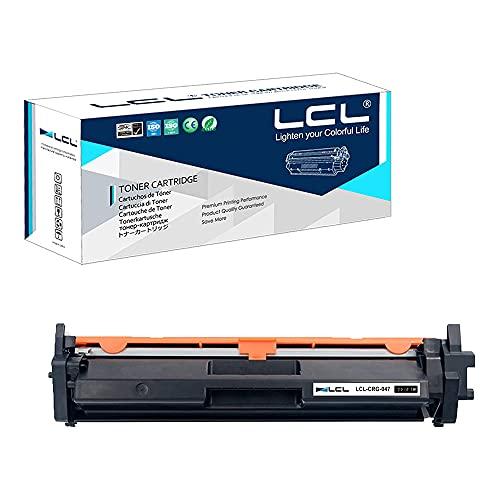 LCL Compatible Cartucho de Tóner 047 CRG047 CRG-047 2164C001 (1 Negro) Reemplazo para Canon imageCLASS LBP113w LBP112 MF112