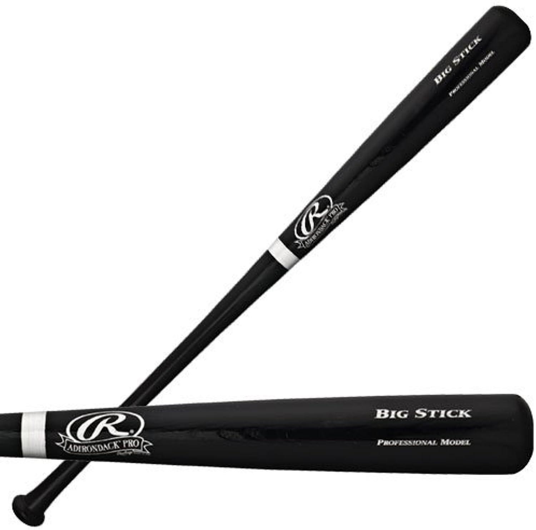 Rawlings Big Stick Bat Black Finish Silver Ring