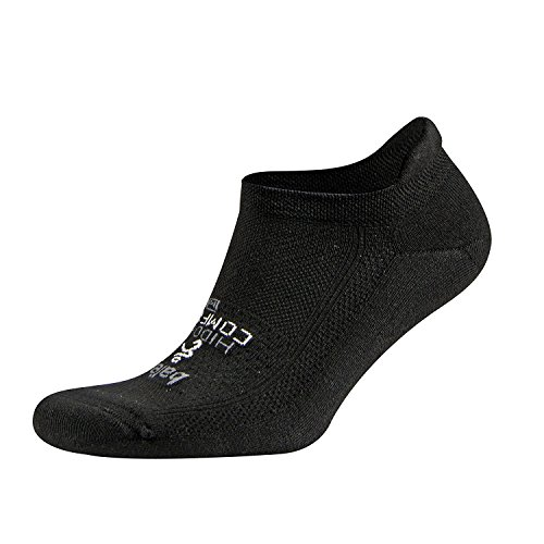 Balega Hidden Comfort Laufsocken für - Herren & Damen, Schwarz (Schwarz), 46-48.5 EU (Herstellergröße:XL)
