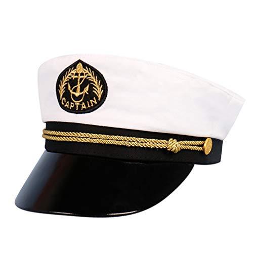 Kisangel Traje del Capitn del Barco del Marinero del Capitn del Barco Cosplay Traje del Capitn de La Marina