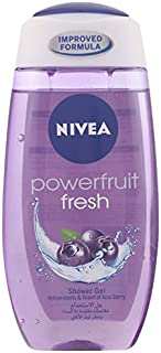 NIVEA, Body, Shower Gel, Powerfruit Fresh, 250ml